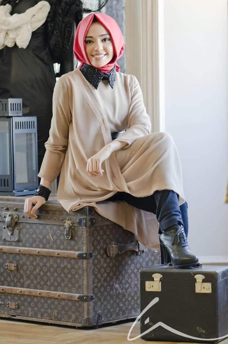 11b933fe1d00a2ae210547eb8aa4655c Pink Hijab Styles-17 Ways to Wear Pink Colour Hijab