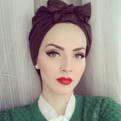 154 Latest Turban Hijab Styles-29 Ways to Wear Turban Hijab