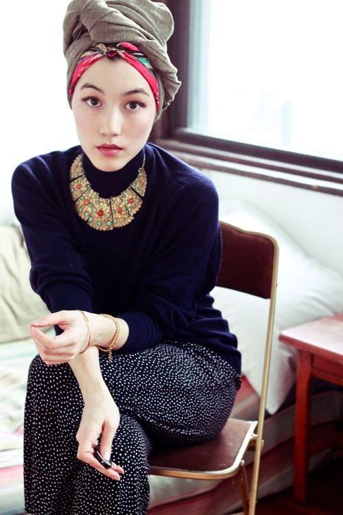 189 Latest Turban Hijab Styles-29 Ways to Wear Turban Hijab