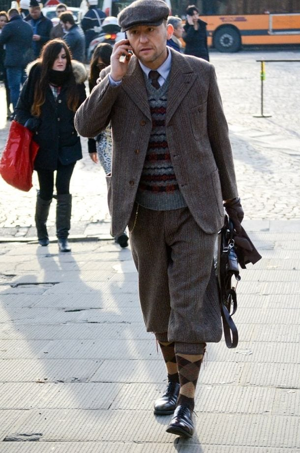 Italian Casual Street Fashion Men
