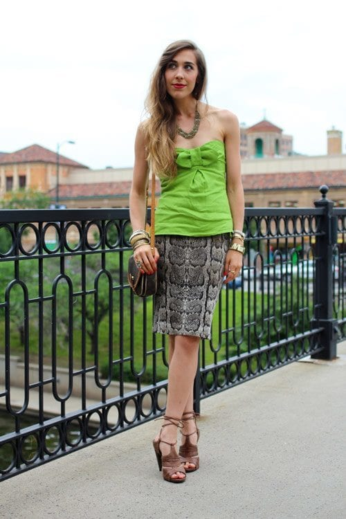 36 Strapless Dress Outfits-23 Ideas How to Wear Strapless Tops