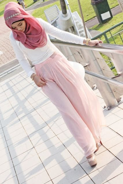 47f3a1290becdf5e4a2fd5c056ad2fbf Pink Hijab Styles-17 Ways to Wear Pink Colour Hijab