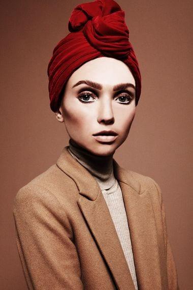 56 Latest Turban Hijab Styles-29 Ways to Wear Turban Hijab