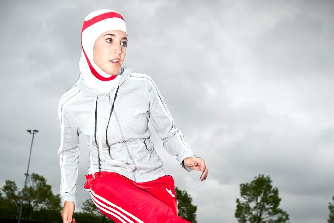 86 Sporty Look with Hijab-14 Modest Hijab Sports Outfits Combinations