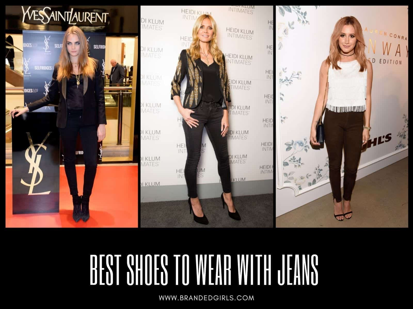 Best-Shoes 25 Best Shoes to Wear with Jeans for Different Looks