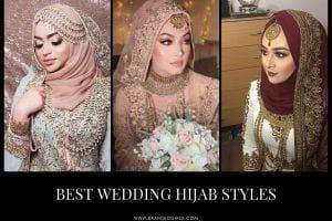 Bridal Hijab For Weddings 20 Hijab Styles For Muslim Brides