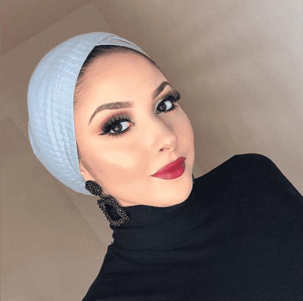 beanie-style-hijab Latest Turban Hijab Styles-29 Ways to Wear Turban Hijab