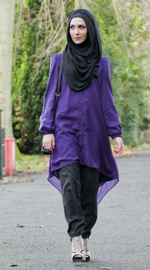 ch13 Casual Hijab Outfits–33 Ways to Wear Hijab Casually