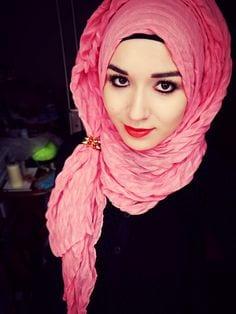 e981417fc55fe04d53bc863300629f6b Pink Hijab Styles-17 Ways to Wear Pink Colour Hijab