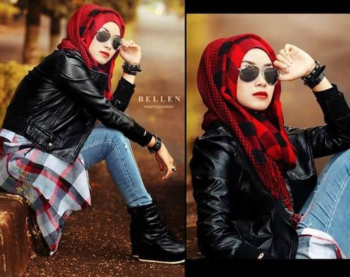 g Grunge Hijab Styles – 15 Best Grunge Hijab Looks This Season