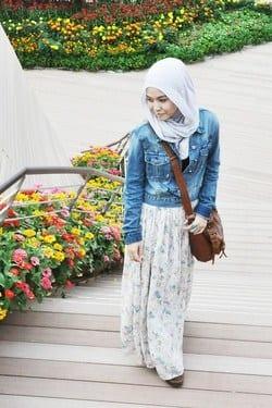 g11 Grunge Hijab Styles – 15 Best Grunge Hijab Looks This Season