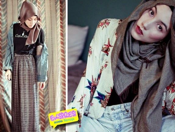 g13 Grunge Hijab Styles – 15 Best Grunge Hijab Looks This Season