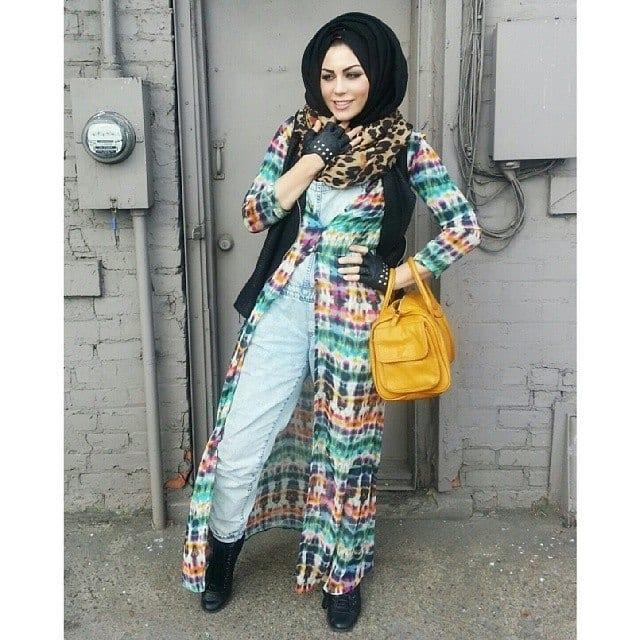 g3 Grunge Hijab Styles – 15 Best Grunge Hijab Looks This Season