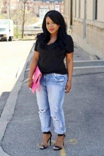 pb13-333x500 18 Plus size Women Boyfriend Jeans Outfits Combinations