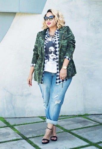 pb4-343x500 18 Plus size Women Boyfriend Jeans Outfits Combinations