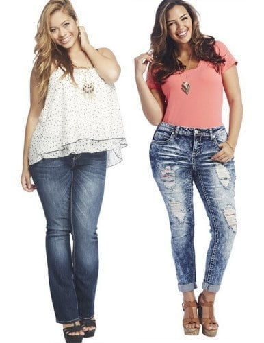 562b2f0daf1 18 Plus size Women Boyfriend Jeans Outfits Combinations