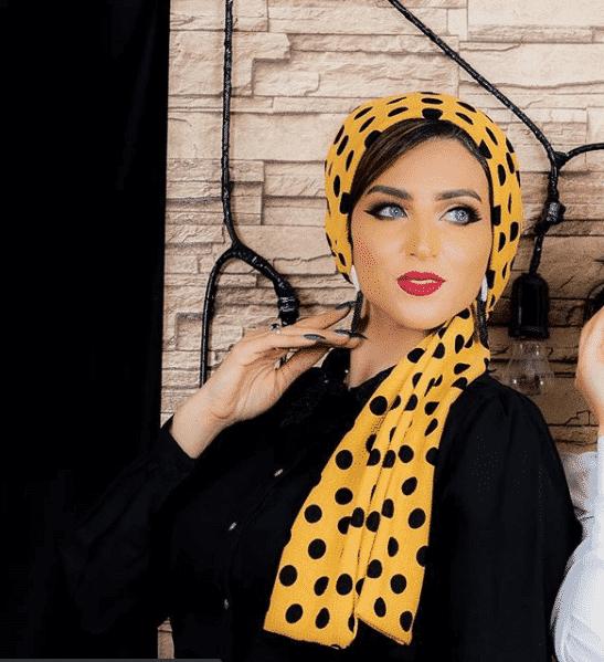 retro-hair-tie-hijab Latest Turban Hijab Styles-29 Ways to Wear Turban Hijab