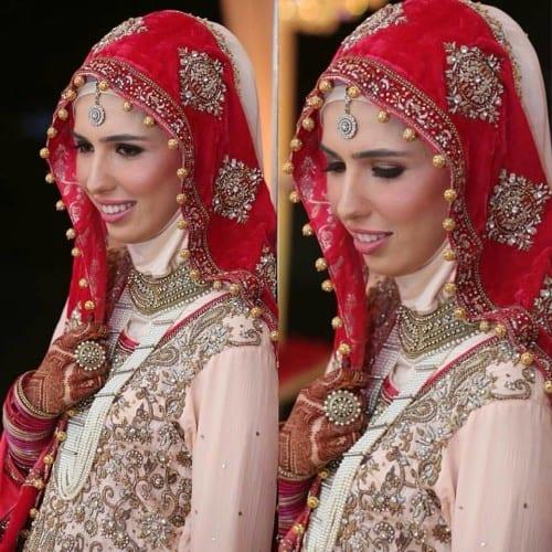 wh110-500x500 Wedding Hijab Styles - 20 Simple Bridal Hijab Tutorials