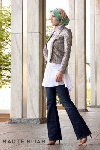 wh131-333x500 Wedding Hijab Styles - 20 Simple Bridal Hijab Tutorials