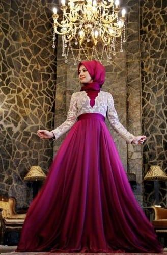 wh15-328x500 Wedding Hijab Styles - 20 Simple Bridal Hijab Tutorials
