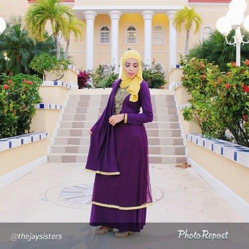 wh19-500x500 Wedding Hijab Styles - 20 Simple Bridal Hijab Tutorials