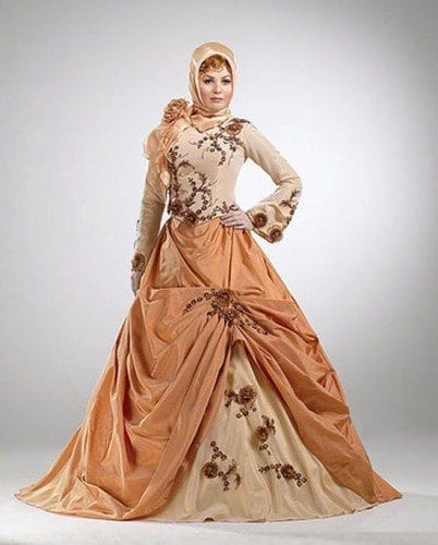 wh51-402x500 Wedding Hijab Styles - 20 Simple Bridal Hijab Tutorials