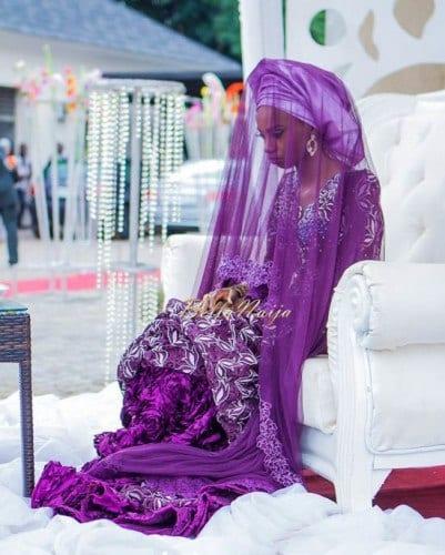 wh91-401x500 Wedding Hijab Styles - 20 Simple Bridal Hijab Tutorials