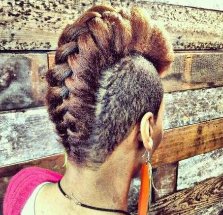 19 30 Best Braids with Shaved Hairstyles for Women to Copy Now