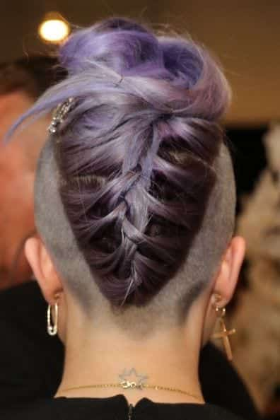 3 30 Best Braids with Shaved Hairstyles for Women to Copy Now