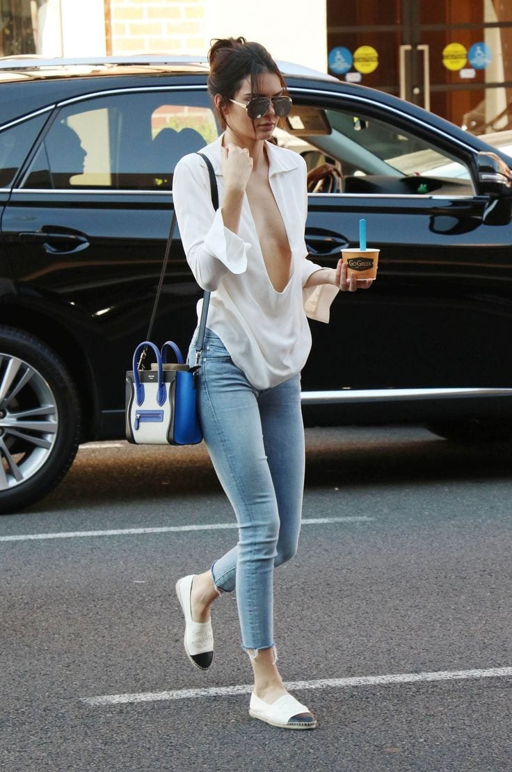 6d4a6369a2891a739594640a7a7a7126 20 Times Kendall Jenner Goes Braless and Looks Simply Flawless