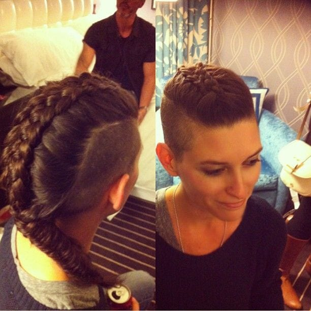 7 30 Best Braids with Shaved Hairstyles for Women to Copy Now