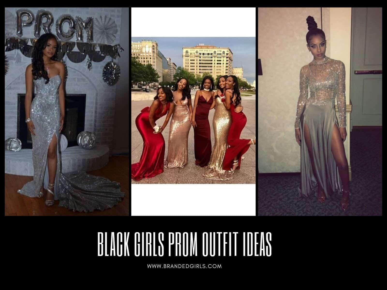 Black-Girls-Prom-Outfits Black Girls Prom Outfits - 20 Ideas What To Wear For Prom