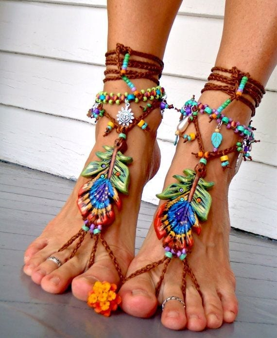 ankle-bracelet-21 24 Latest Ankle chains Fashion and Ideas to Wear Foot Anklets