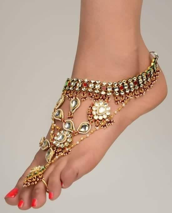 ankle-bracelet-23 24 Latest Ankle chains Fashion and Ideas to Wear Foot Anklets