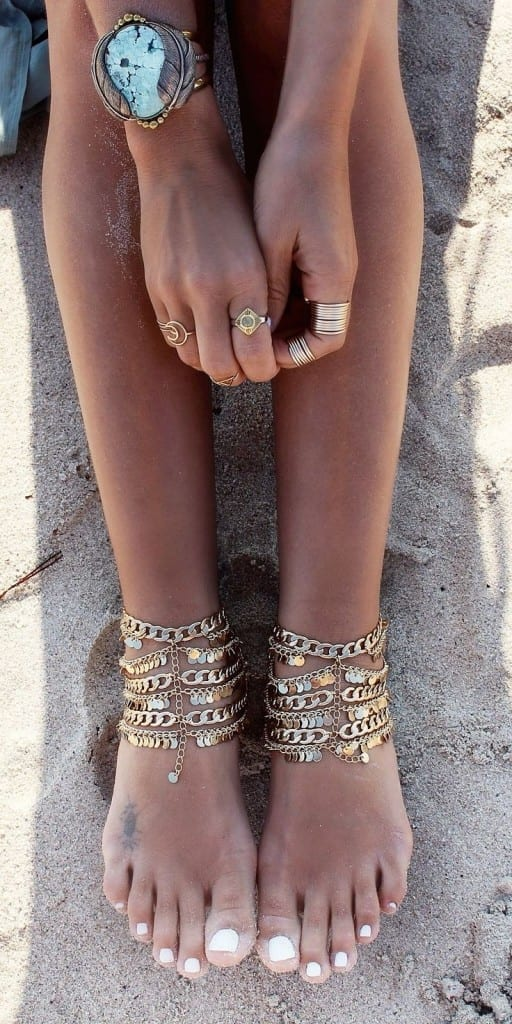 ankle-bracelet-4-512x1024 24 Latest Ankle chains Fashion and Ideas to Wear Foot Anklets
