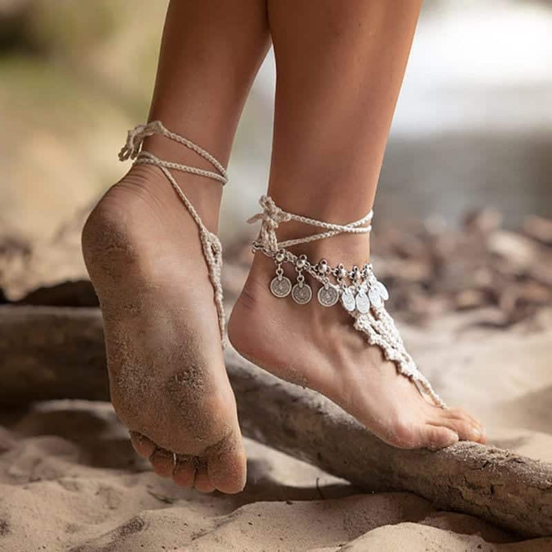24 Latest Ankle chains Fashion and Ideas to Wear Foot Anklets
