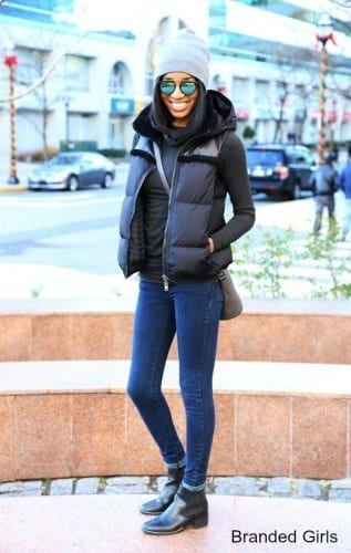 as-317x500 Outfits with Puffer Vest-20 Ways to Wear Puffer Vest Fashionably