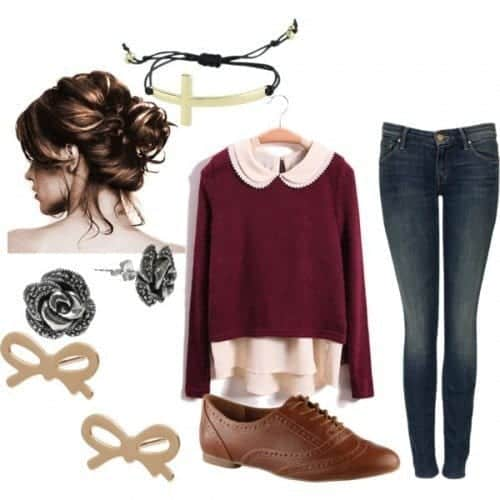 a0d3a224acdc How to Dress Like Nerd? 18 Cute Nerd Outfits for Girls