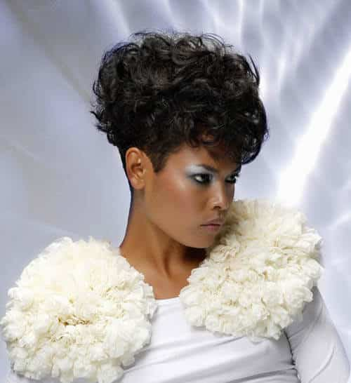 221 25 Cute Short Curly Hairstyles for Black Women These Days