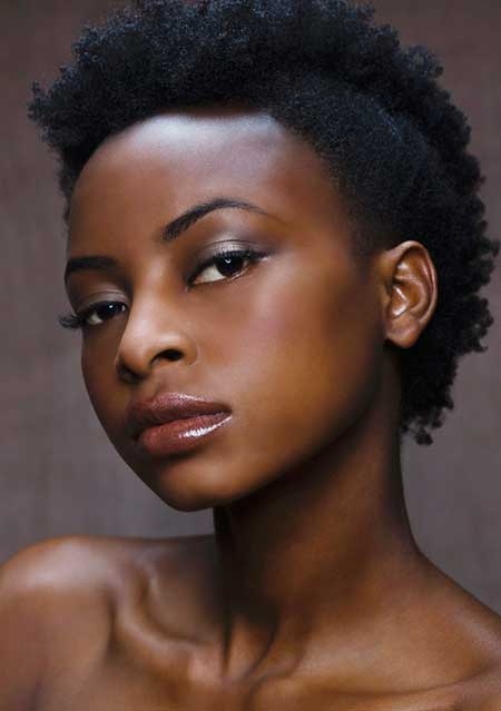 26 25 Cute Short Curly Hairstyles for Black Women These Days