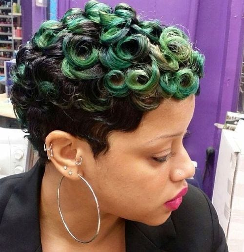 32 25 Cute Short Curly Hairstyles for Black Women These Days
