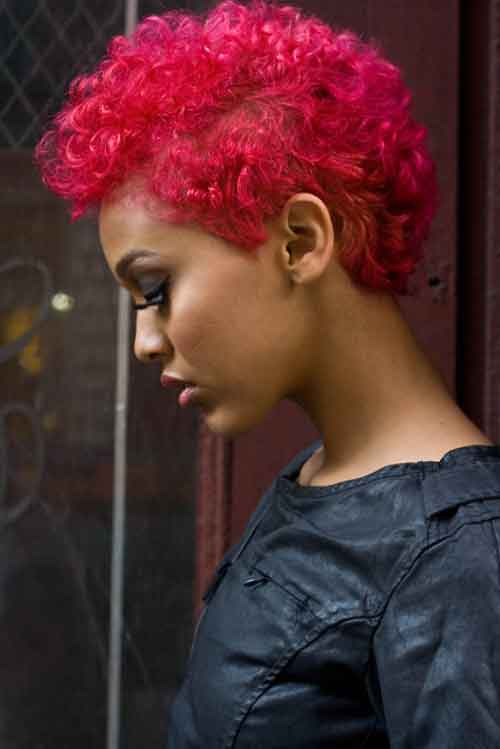 42 25 Cute Short Curly Hairstyles for Black Women These Days