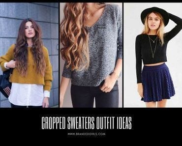 Cropped Sweaters Outfit Ideas