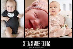 Cute Last Names for Boys– List of 100 Best Last Names