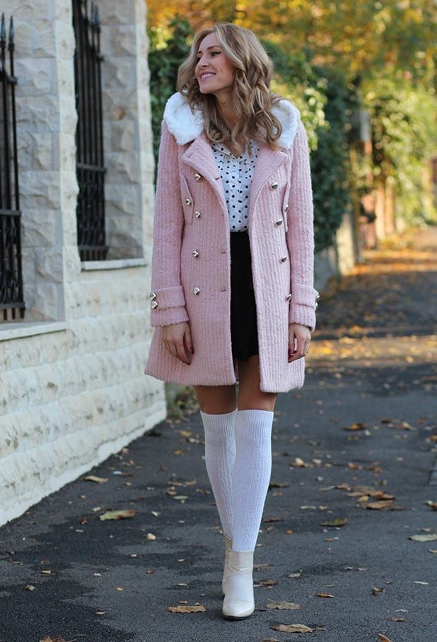 KHS11 Knee High Socks Outfits-23 Cute Ways to wear Knee High Socks
