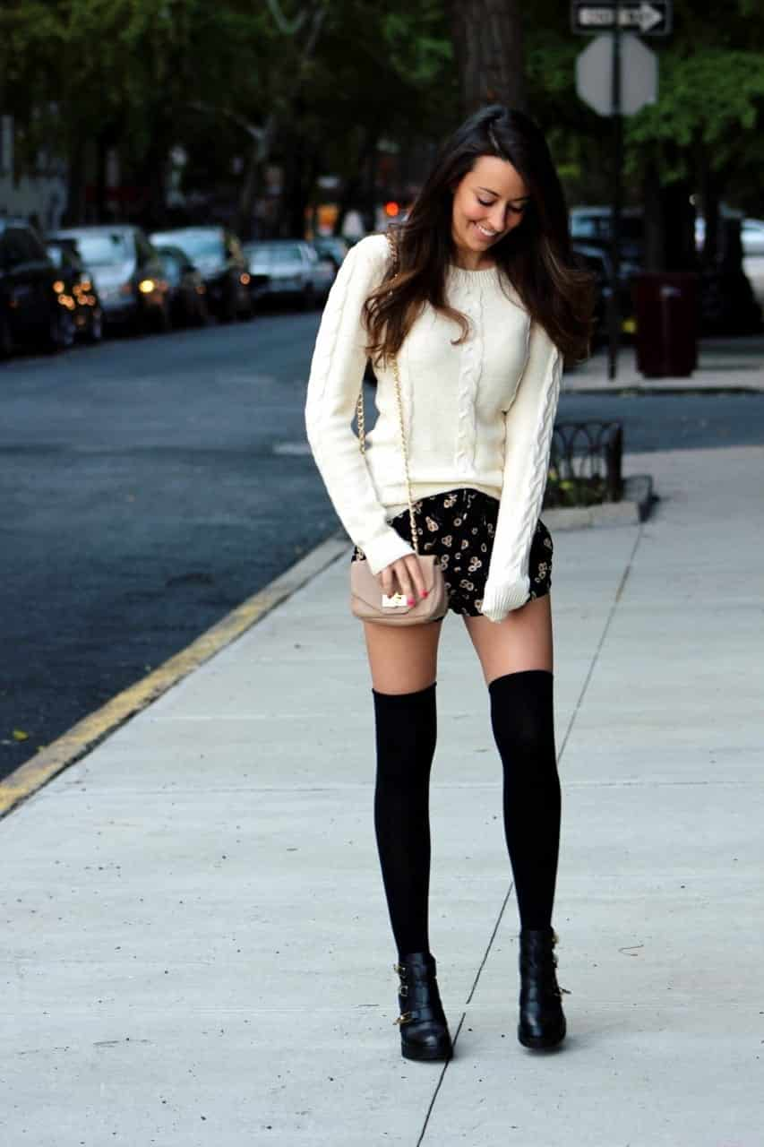 6721c72d6 KHS18 Knee High Socks Outfits-23 Cute Ways to wear Knee High Socks