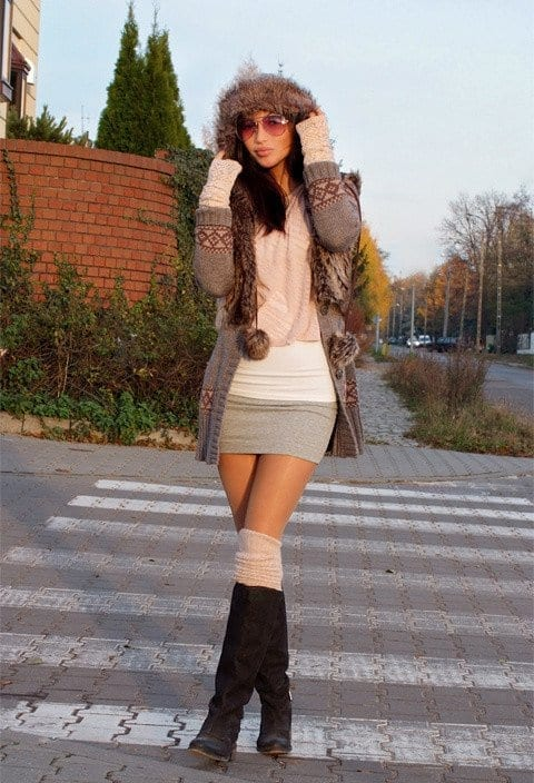 KHS22 Knee High Socks Outfits-23 Cute Ways to wear Knee High Socks