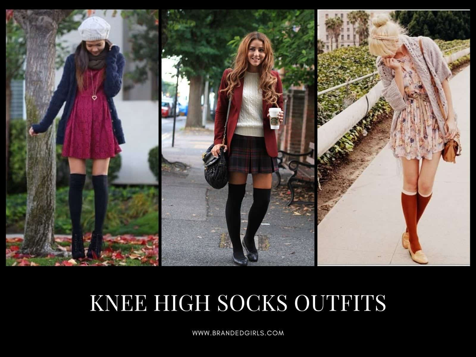 Best Knee High Socks Outfits