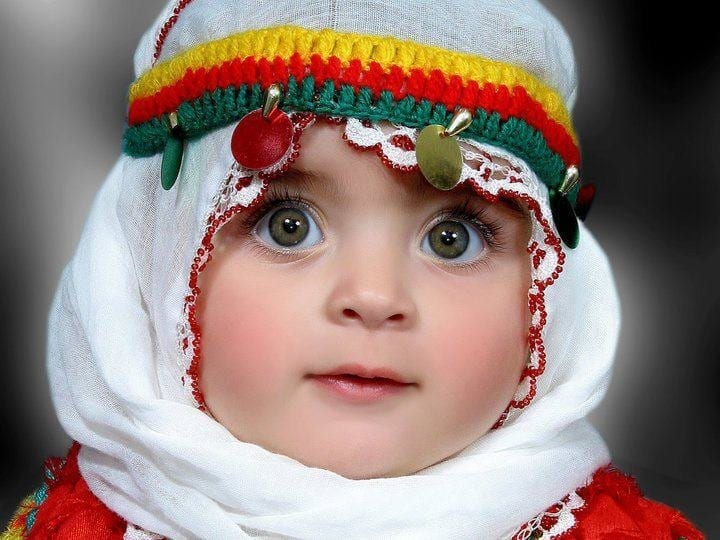 mgh29 30 Cute Pictures of Baby Girls In Hijab will Melt your heart