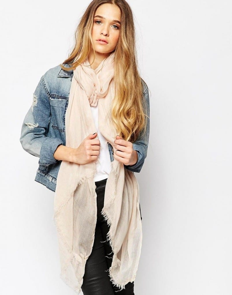 oversize-scarf6-803x1024 How to Wear Over Sized/Blanket Scarf ?18 Outfit Combinations